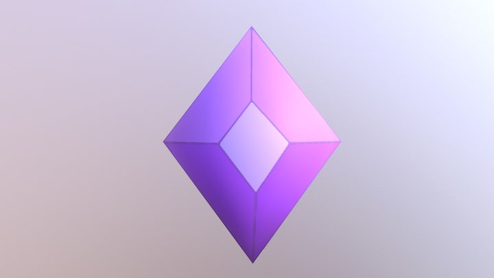 Doggy crystals 3D Model