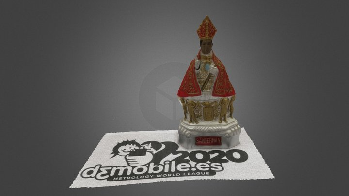 D3MOBILE 2020 TEST 2 CAMPUSTERRA IESBASOKO 3D Model