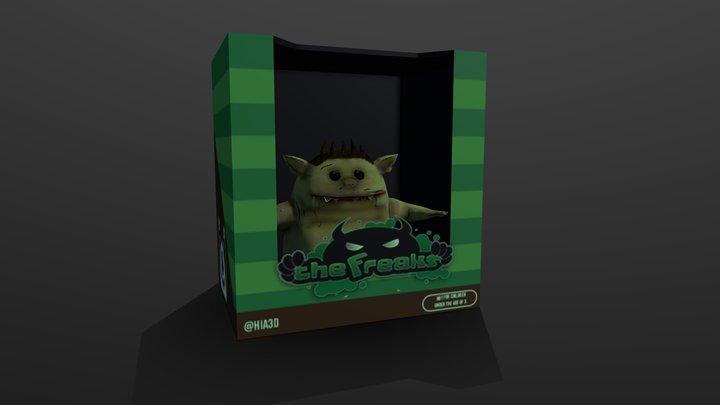 The freak 3D Model