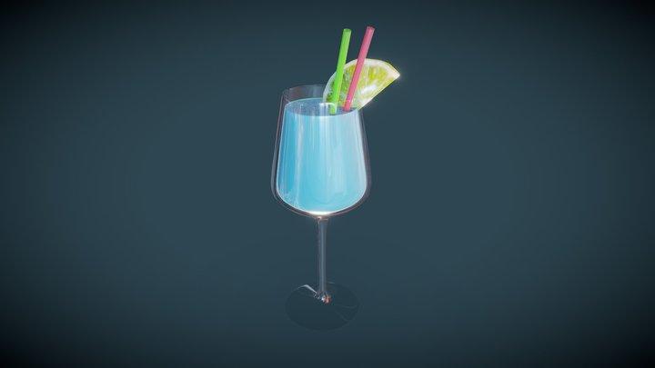 Summer drink 3D Model