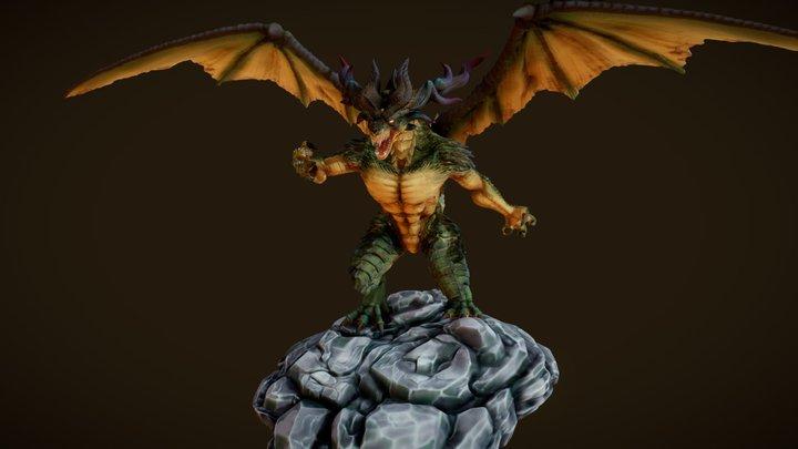 Karus Dragon 3D Model