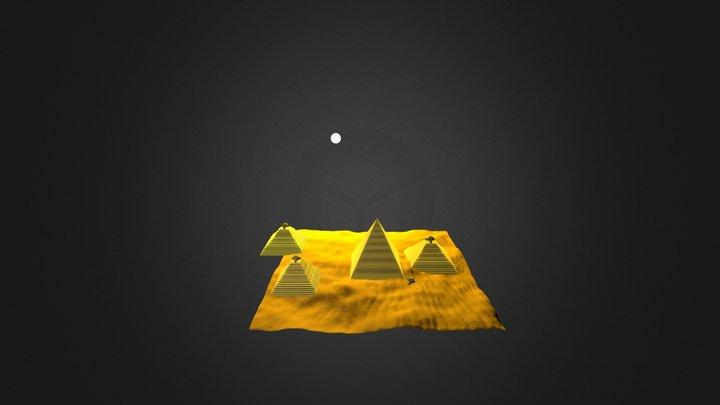 Pyramid Morning 3D Model