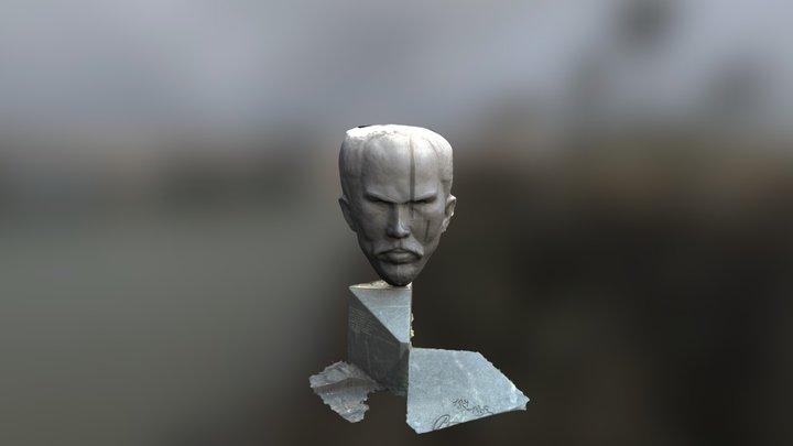 The statue of Stefan Stambolov 3D Model
