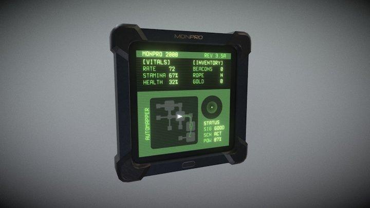 MonPro 2000 3D Model