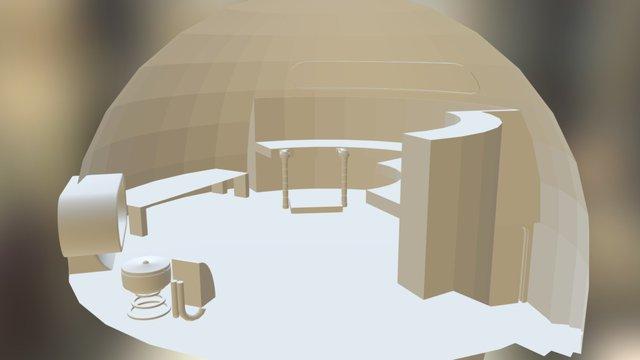 Mad Scientist WIP 01 3D Model