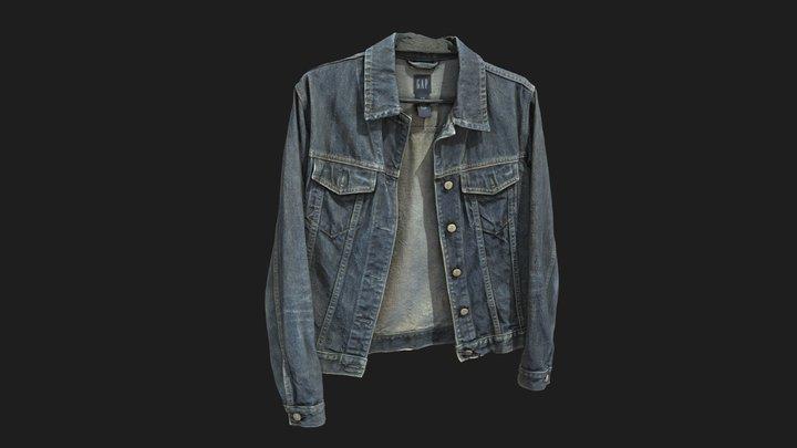 Jeans Jacket #AgisoftClothesChallenge 3D Model