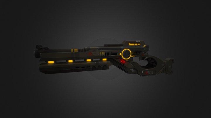 Shotgun.fbx 3D Model