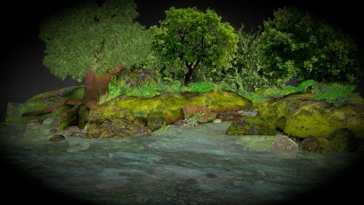 Pond_Side 3D Model