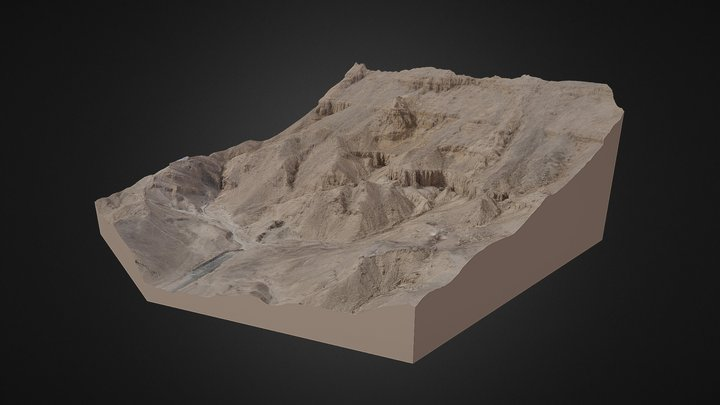 Valley of the Queens, Thebes (Luxor, Egypt) 3D Model