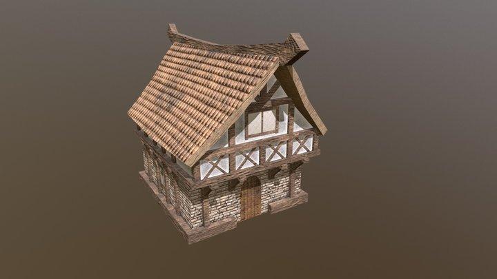 Stone house 3D Model