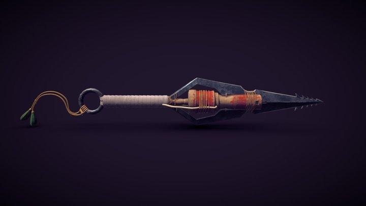 Old Knife Concept 3D Model