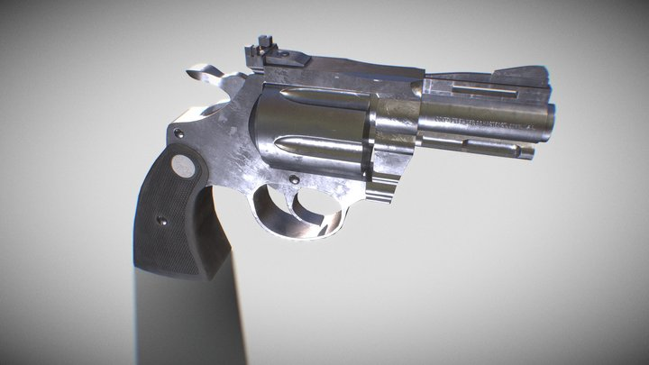 ColtDiamondback 3D Model