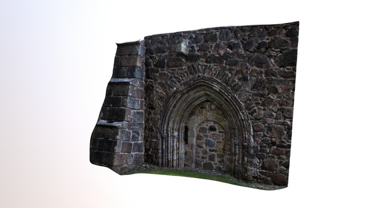 Kincardine O'Neil Old Parish Church 3D Model