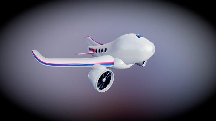 Toy Jet 3D Model