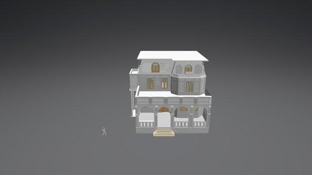 Museo Naval Contemporáneo 3D Model