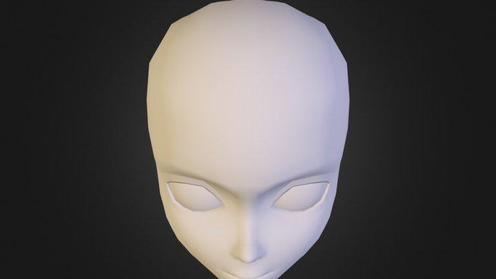 Anime_Face_Model 3D Model