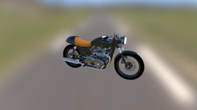 On the road 3D Model