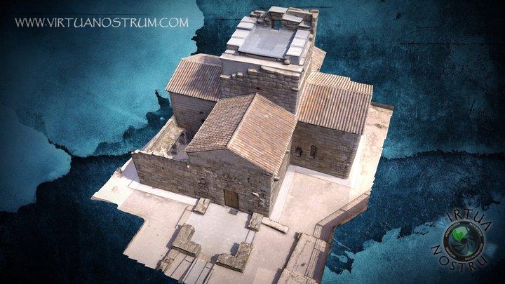 Santa María de Melque - Iglesia Visigoda 3D Model