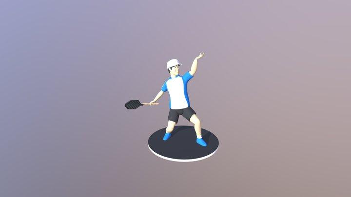 Sport Figure 3D Model