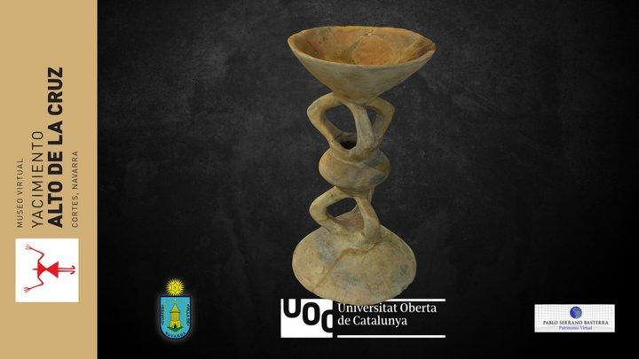 Candelabro, pebetero o copa ritual 3D Model