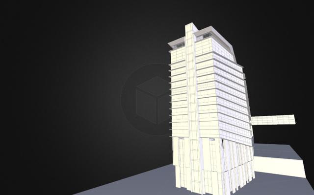 Zheijiang Tower 3D Model