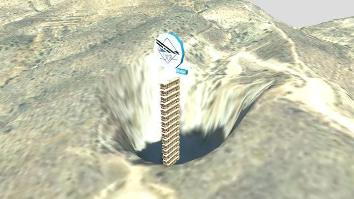 Apilador #3 Sima de San Pedro, Teruel 3D Model