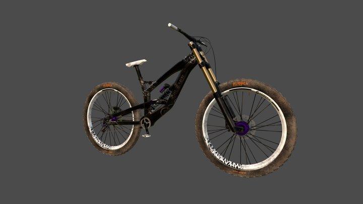 Downhill Mountainbike 3D Model