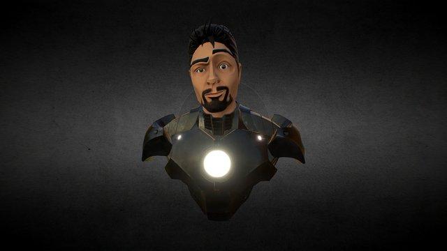 Iron Man Model 42 Fan Art 3D Model