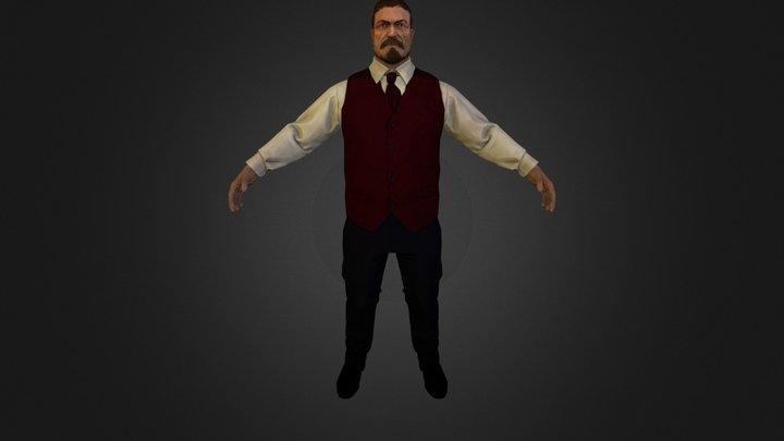 Barkeep_WIP 3D Model