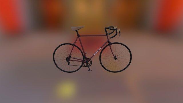 3D road bike 3D Model