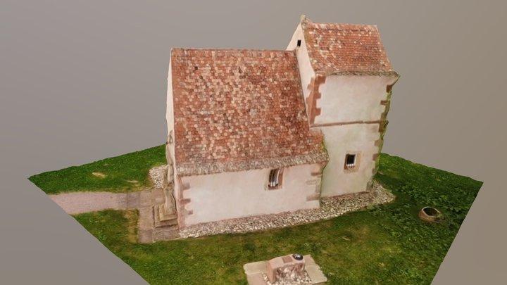 Chapelle Himmolsheim 3D Model
