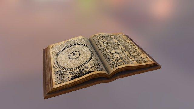 Alchemy Book 3D Model