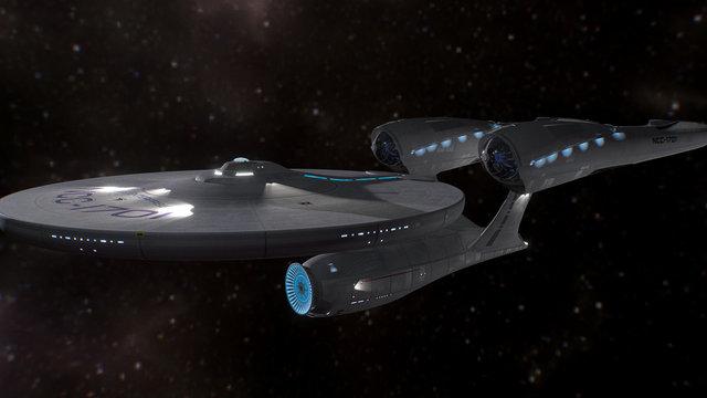 USS Enterprise (2009) 3D Model