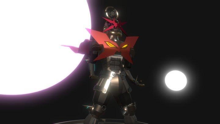 Mecha Estilizado - 'Tengen Toppa Daft Punk' 3D Model