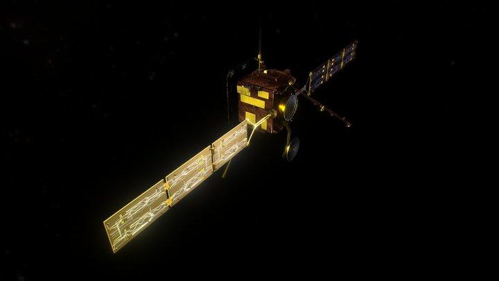 Solar Orbiter 3D Model