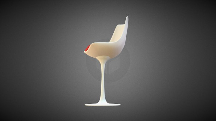 TULIP CHAIR 3D Model