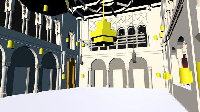 Pesti Vigadó 3D Model