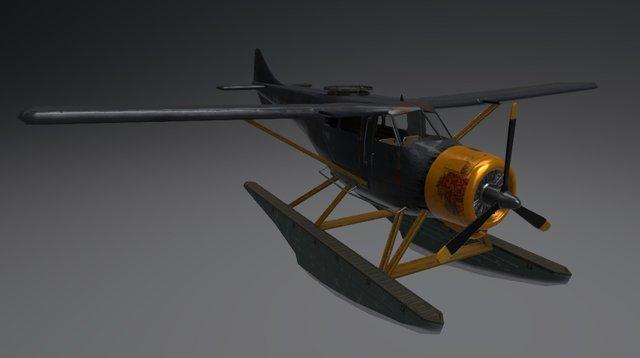 Hydravion 3D Model