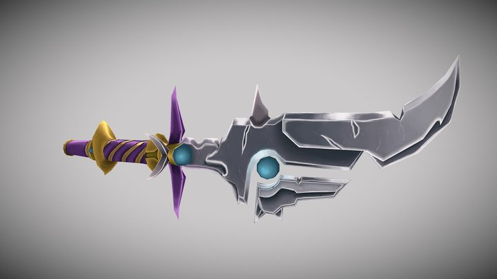 WeaponCraft Sword 3D Model