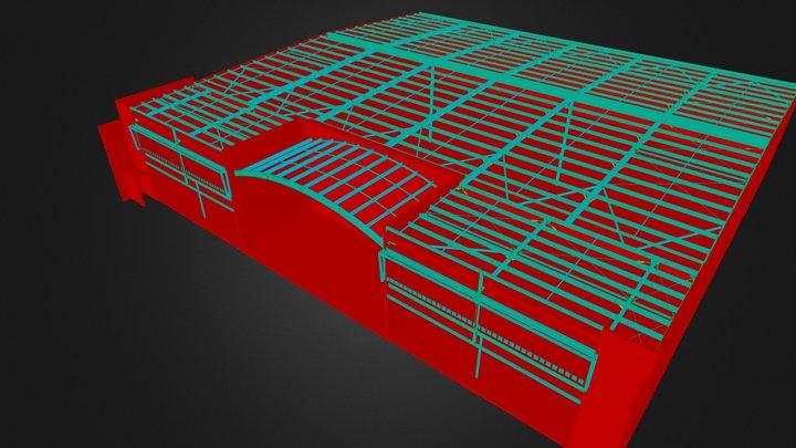 Warehouse1R.3ds 3D Model