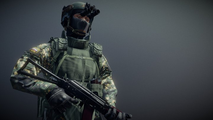FSB Operator 3D Model