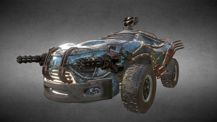Vehicle_Medium_01 3D Model