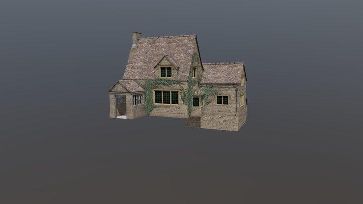 DAE - GGP1 - Diorama - Northern England Cottage 3D Model