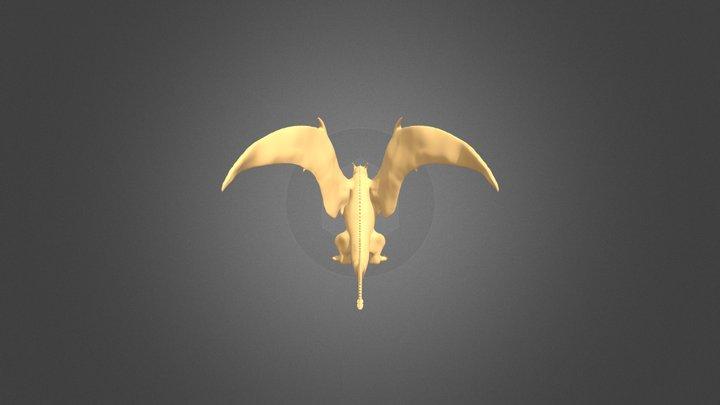 Dragon - Zbrush 3D Model