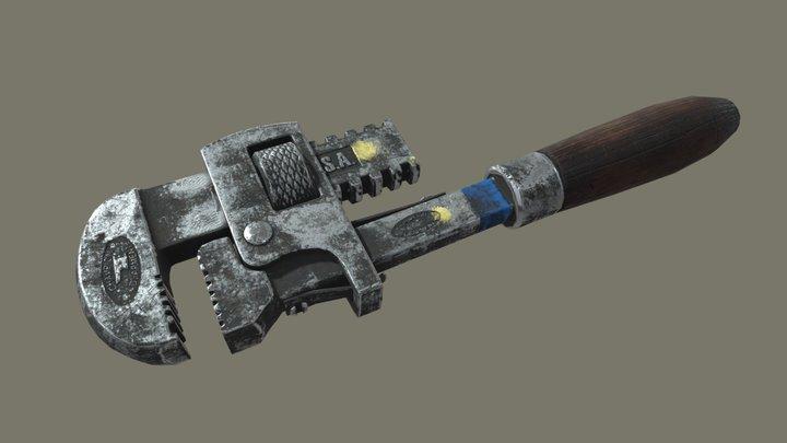 Wrench HW 3D Model