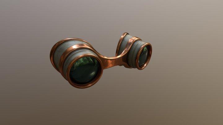 Steam punk goggles 3D Model