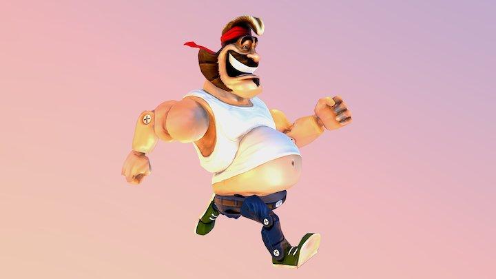 Henk! 3D Model