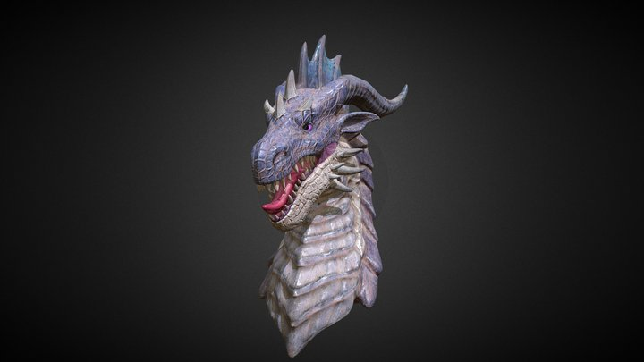 dragon head_2 3D Model