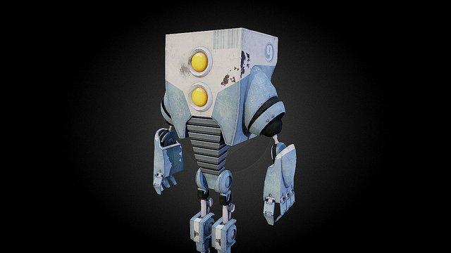 Robot - creaturebox.com 3D Model