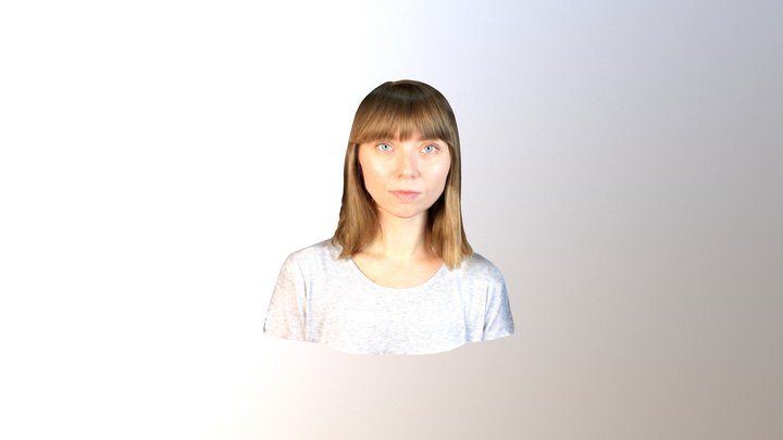 Julia Beliaeva 3D Model